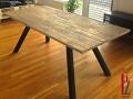 Stableimholz Tischplatte gebürstet und färbig gewachst 1 .jpg